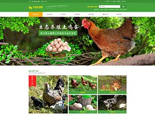 农业行业网站模板
