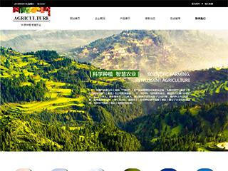 科学种植网站模板 网站建设 网页设计 企业网站定制开发