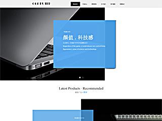 电脑网站模板2137