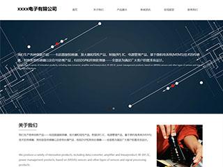 电子、电气行业网站模板