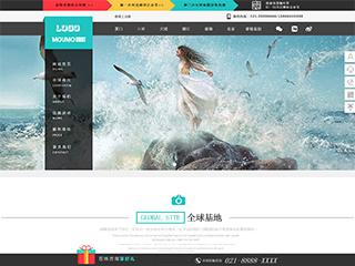 摄影、冲印行业电脑+手机+微信网站模板