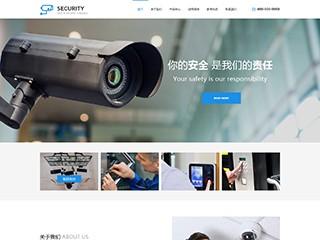 安防、监控器材行业网站模板