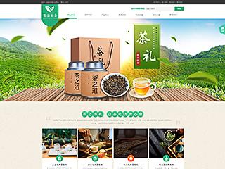 茶叶网站模板1712