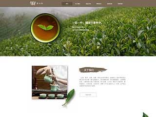 茶叶行业电脑+手机+微信网站模板