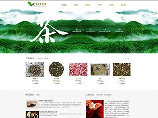 茶叶行业网站模板