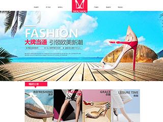 女鞋网站模板1290