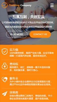 外贸服务网站建设-进出口网站模板-物流公司网站设计-物流网站模板